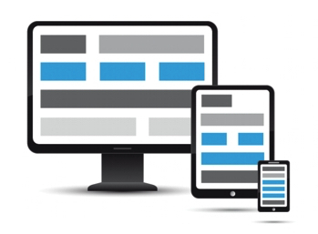 Figure 1. Responsive Web Site Across Multiple Devices