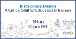 "Image for Free Webinar: Instructional Design - ""A Critical Skill For Educators And Trainers"""