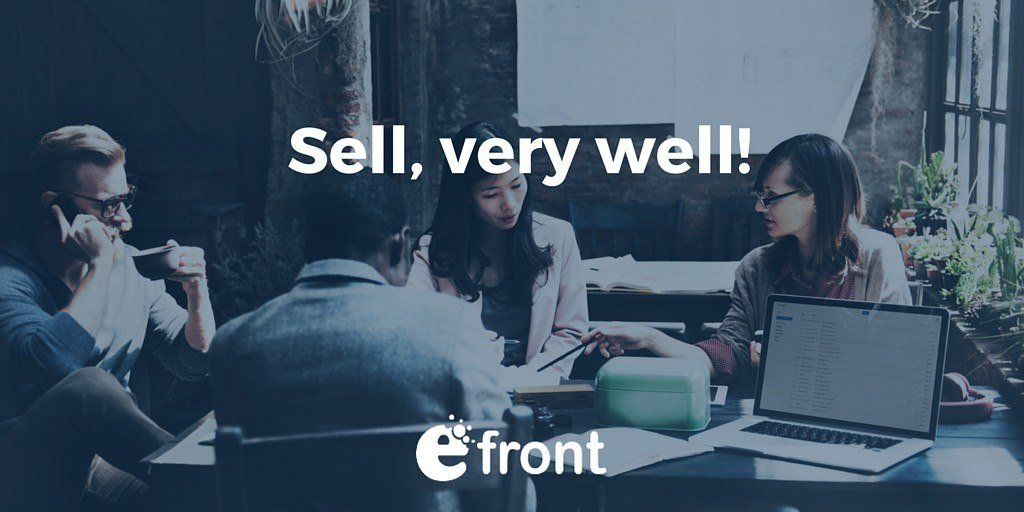 Selling Courses Like Hotcakes With eFrontPro