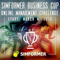 Simformer, Simulation-Based Online Management Challenge, Start on 4 March