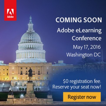 Adobe eLearning Conference 2016