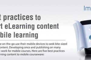 5 Best Practices To Convert eLearning Content For Mobile Learning