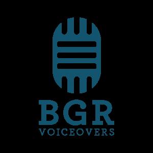BGR Voiceovers logo