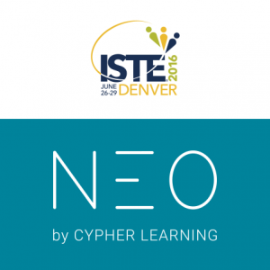 NEO Will Be Exhibiting At ISTE 2016 In Denver