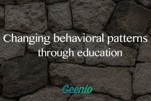 Changing Behavioral Patterns Through Education
