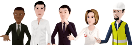 ITyStudio's 3D characters