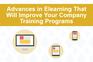 Image for 4 Advances In eLearning That Will Improve Your Company Training Programs