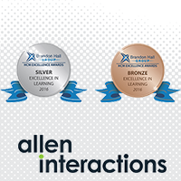 Allen Interactions Takes Home Two 2016 Brandon Hall Awards