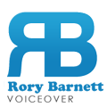 British Voiceover - Rory Barnett logo