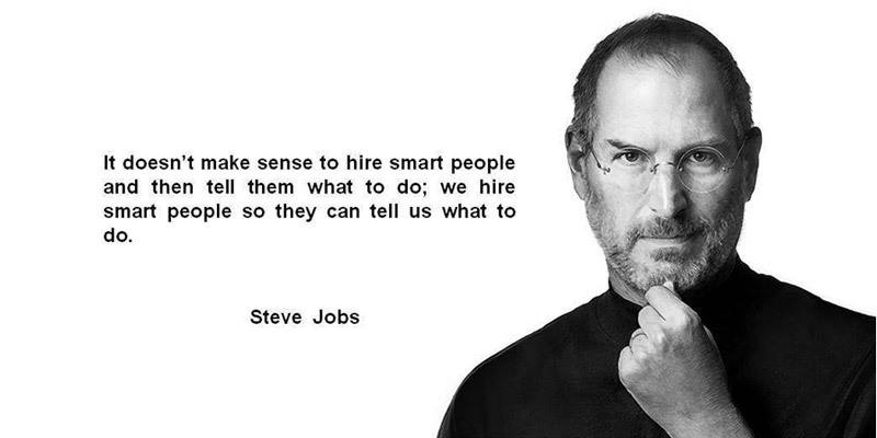 Leader in Innovation-Steve Jobs