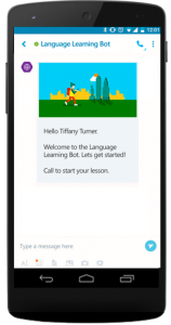 Learningonline.xyz And Microsoft Collaborate To Build A Language Learning Bot