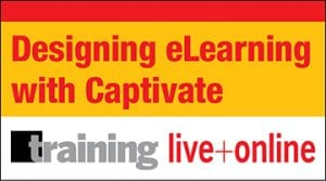 Designing eLearning With Captivate Certificate