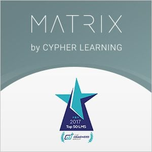 MATRIX LMS Is In The Top 50 LMSs For 2017