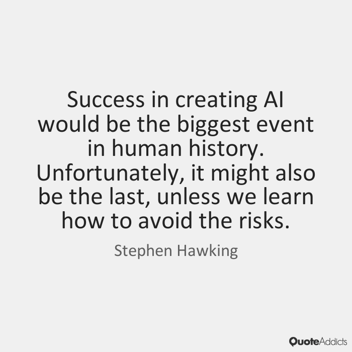 Stephen Hawking Quote--Credit: www.QuoteAddicts.com