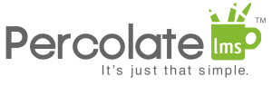 Percolate LMS logo