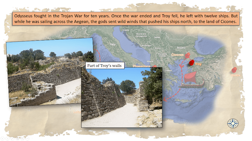Information about Troy