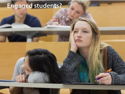 Engaged Students?--Credit: www.inspirelearning.com