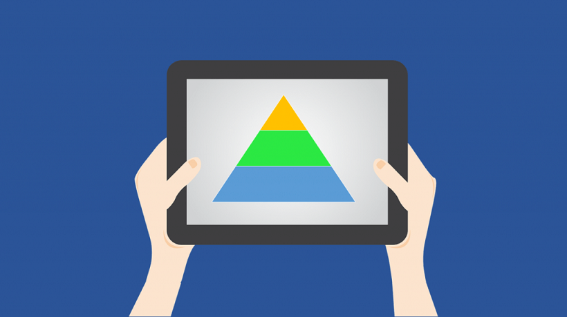 6 Steps For Designing An Interactive Pyramid With PowerPoint