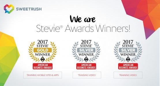 SweetRush Honored With Three Stevie® Awards In The American Business Awards 2017