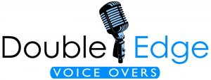 DoubleEdge VoiceOvers logo