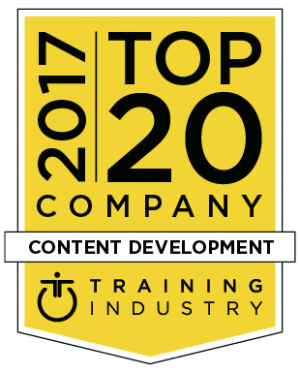 LEO Ranked On Training Industry's 2017 Top 20 Content Development Companies List