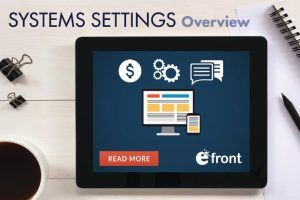 Easy Maintenance: Working With eFrontPro's System Settings - Part 2