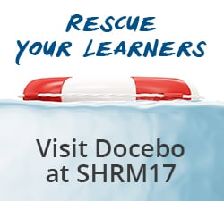 Making A Splash At SHRM17: Docebo Rescues Learners From Dull Training