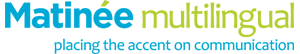 Matinée Multilingual logo