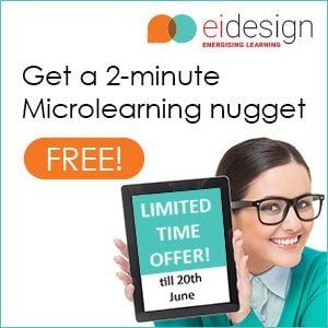 EI Design Holds Microlearning Webinar; Announces Free Nugget Offer