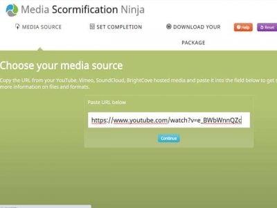Screenshot of CourseSuite Media Ninja