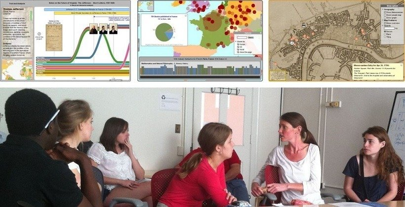 Teaching Using Interactive Visualization: Project-Based Learning At UVA