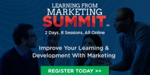 Learning From Marketing Summit - Live Online Event