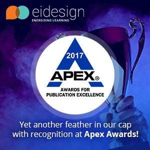 EI Design Wins GOLD At APEX Award