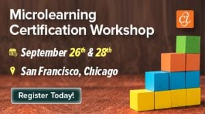 Microlearning Certification Workshop In USA