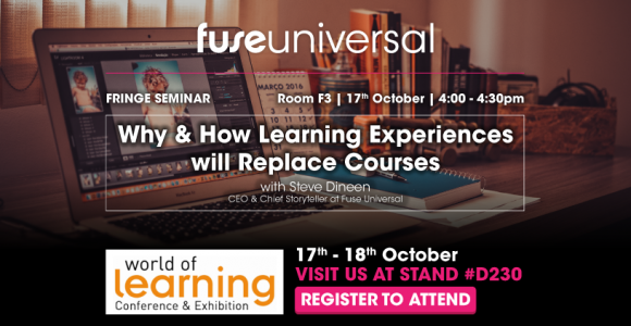 Fuse Universal To Hold Talk At World Of Learning Conference & Exhibition