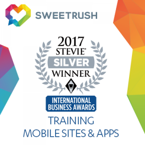 SweetRush Wins Silver At The 2017 International Business Awards