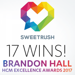 SweetRush Wins 17 Brandon Hall Group Excellence Awards, 13 Golds