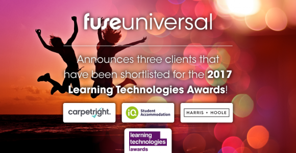 Fuse Universal Clients Shortlisted For 5 Learning Technologies Awards