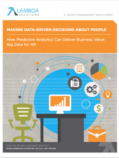 Big Data For HR: How Predictive Analytics Can Deliver Business Value