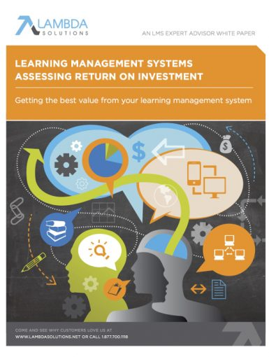 Learning Management Systems - Assessing Return On Investment