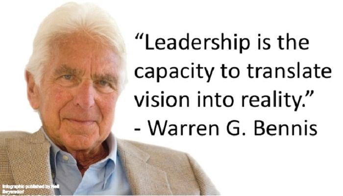 Leadership to Reality-- Credit: Neil Beyensdorf (2015)
