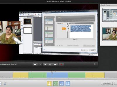 Screenshot of Adobe Presenter Video Express