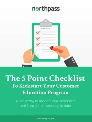 The 5 Point Checklist To Kickstart Your Customer Education Program