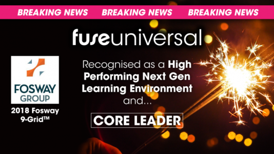 Fuse Universal Ranked As A Core Leader In The 2018 Fosway 9-Grid™