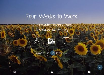 Four Weeks To Work: A Preboarding Journey From Acceptance To First Day