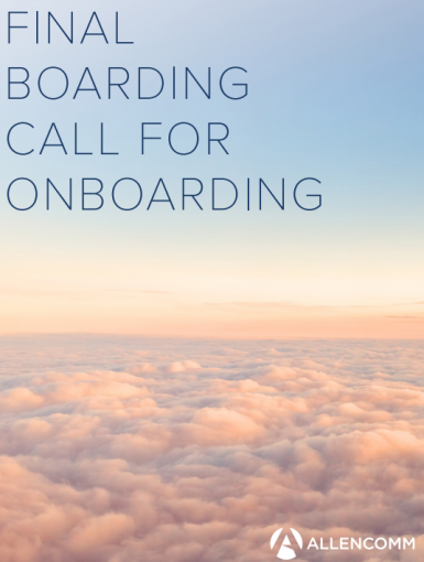 Final Boarding Call For Onboarding