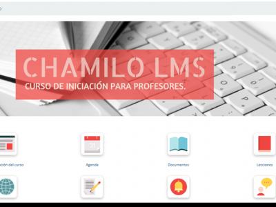 Screenshot of Chamilo