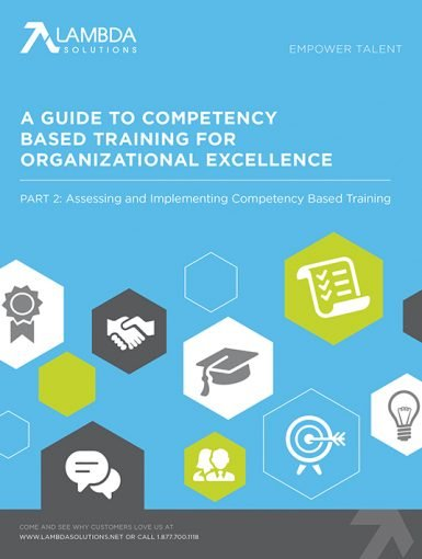 A Guide To Competency Based Training For Organizational Excellence - Part 2