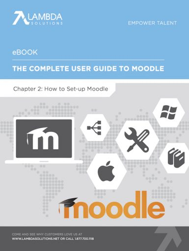 The Complete User Guide To Moodle Chapter 2