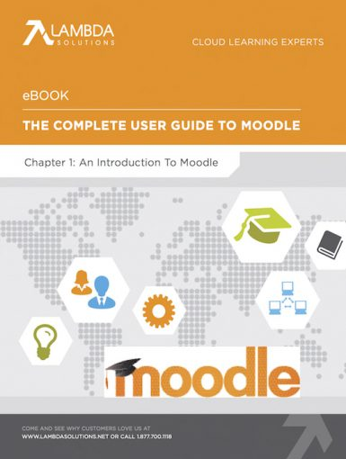 The Complete User Guide To Moodle Chapter 1